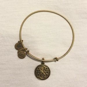 Gold Alex & Ani Celtic Knot Bracelet